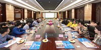印尼西加里曼丹省黄汉山副省长一行莅临竞博体育APP集团  围绕西加城市建设开发事宜交流合作意见