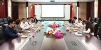 卡塔尔财政司司长萨阿德一行到访bob客户端苹果版集团洽谈合作