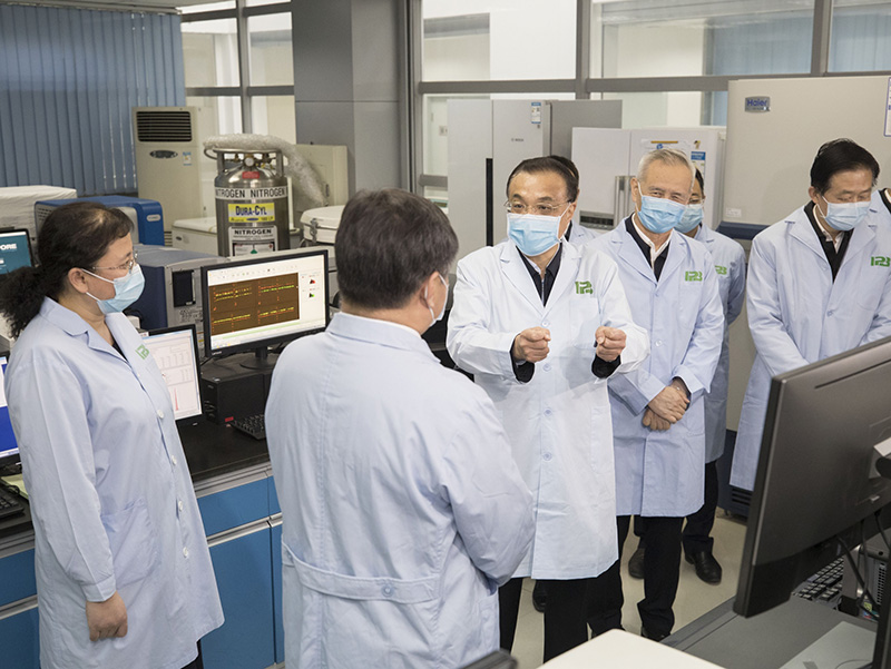 李克强:继续做好科学防控 推动有序复工复产