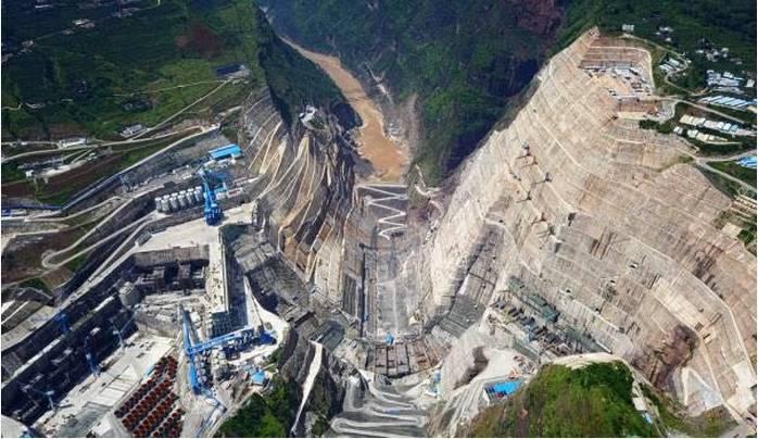 竞博体育APP集团参建全球在建规模最大水电工程——金沙江白鹤滩水电站