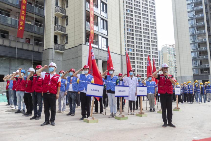深圳万科、竞博体育APP集团举办批量装修安全事故防控及应急综合演练
