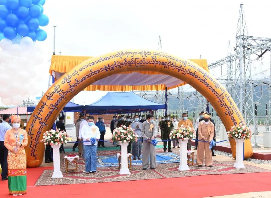 bob客户端苹果版集团承建缅甸国家电网项目正式通电 一改当地限时限量用电史