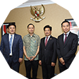 Gu Shaoming, together with Chinese enterprises to visit 9 ministries in Indonesia for cooperation.